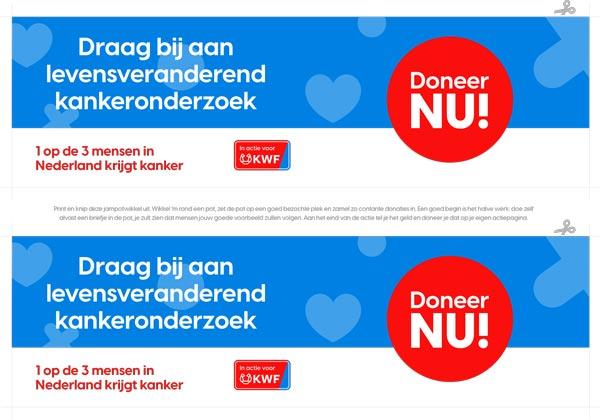 Donatie-wikkel